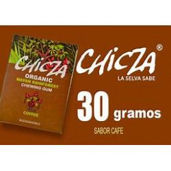 CHICLE ORGANICO CHICZA CAFE...